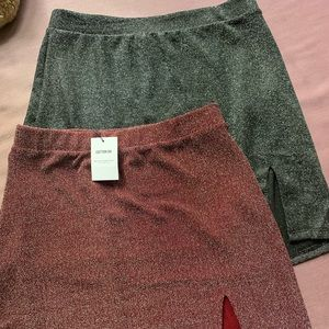 Cotton-on mini skirts
